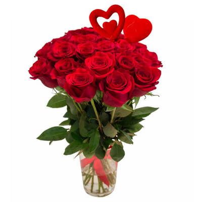 Flower delivery Bangkok - Rose bouquet for Valentines Day