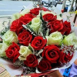 21 mix roses - Same day flower delivery Bangkok City