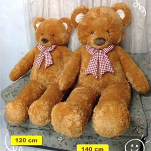 Light brown teddy bear - 120-140 cm - Flower Delivery Bangkok