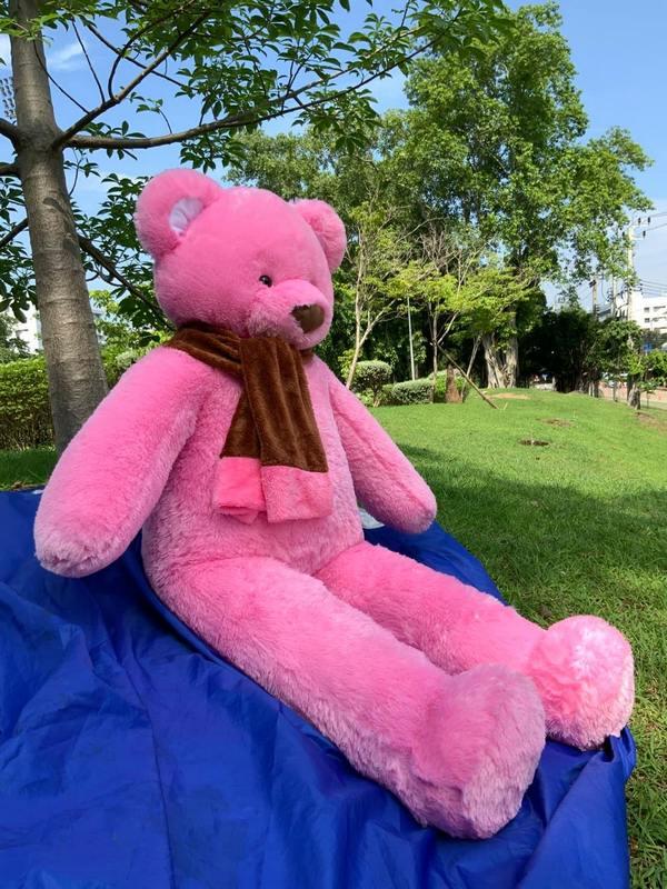 Pink Teddy Bear 140 - Flowers-Bangkok
