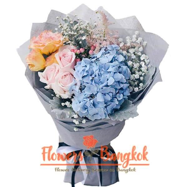 Floral Fantasy bouquet - Flower Delivery in Bangkok